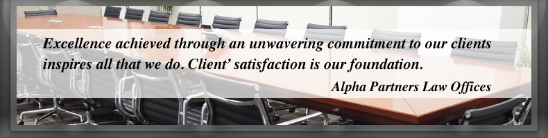 Excellence achieved through an unwavering commitment to our clients  inspires all that we do. Client' satisfaction is our foundation.